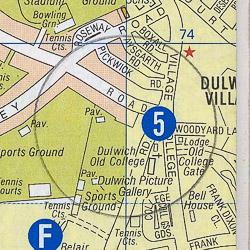 Dulwich map - London A-Z Project