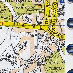 Highgate map
