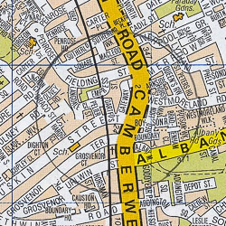 Walworth map - London A-Z Project