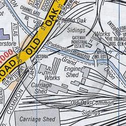 Willesden Junction map